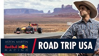 Road Trip USA | Daniel Ricciardo takes F1 to San Francisco, Monument Valley and Las Vegas