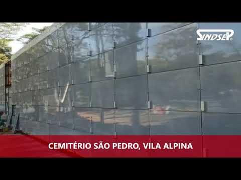 Dirigentes do Sindsep visitam cemitérios de SP
