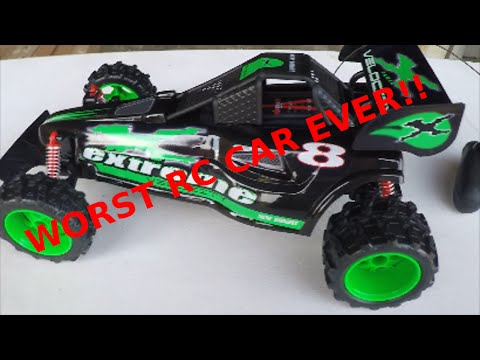New Bright RC Car Buggy Review Worst Rc Car Ever!!