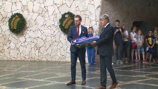 Делегации Нигерии и Исландии почтили память защитников Сталинграда