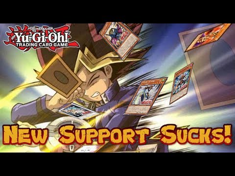 Why Does Konami Make BAD Yu-Gi-Oh! Support Cards?