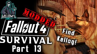 Modded Fallout 4 Survival - Part 13 - Getting a Clue