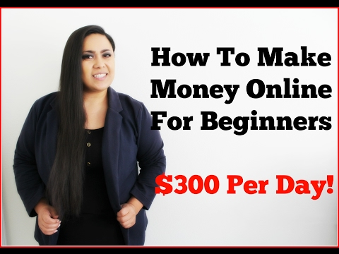 How To Make Money Online [Make Money Online For Beginners] Easy $300 a day for beginners
