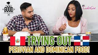A Dominican Tries Peruvian Food!