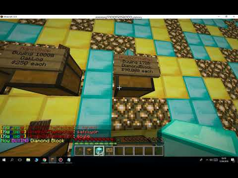 How to Buy and Sell Items in Minecraft with Quick Shop Plugin