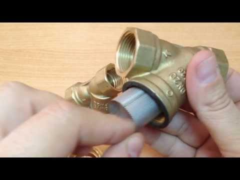 Filtros de agua para calderas, calentadores y depósitos de agua