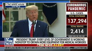 """President Trump: """"Federal Govt. Continues To Mobilize Every Resource"""" To Address Coronavirus"""