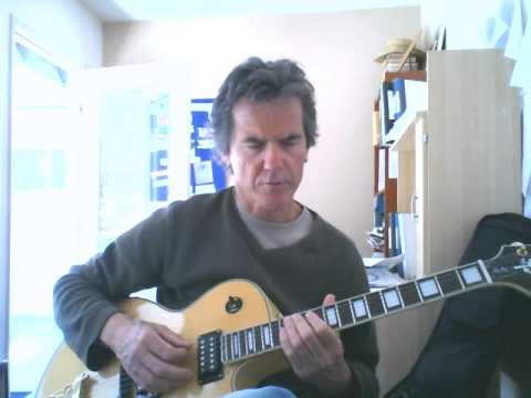 Beginner Jazz Guitar lesson - How to begin improvising and soloing over a 2 5 1. James Nichols.