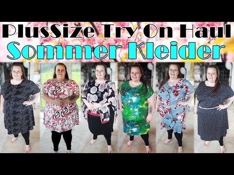 XXL KLEIDER 👗 PlusSize Try On Haul 😍 Big Fashion: Summer Dresses 🌞 Teil 2   PrimaDina