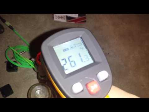 710  oil whip temp test