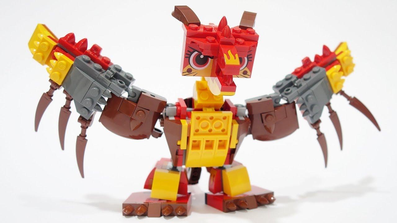 Fire Katdan! Lego Ultrakatty 70827 alternative build