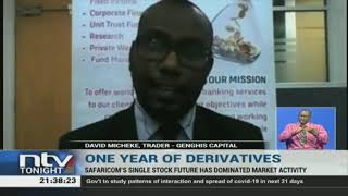 It has been one year since the derivatives market at the Nairobi
