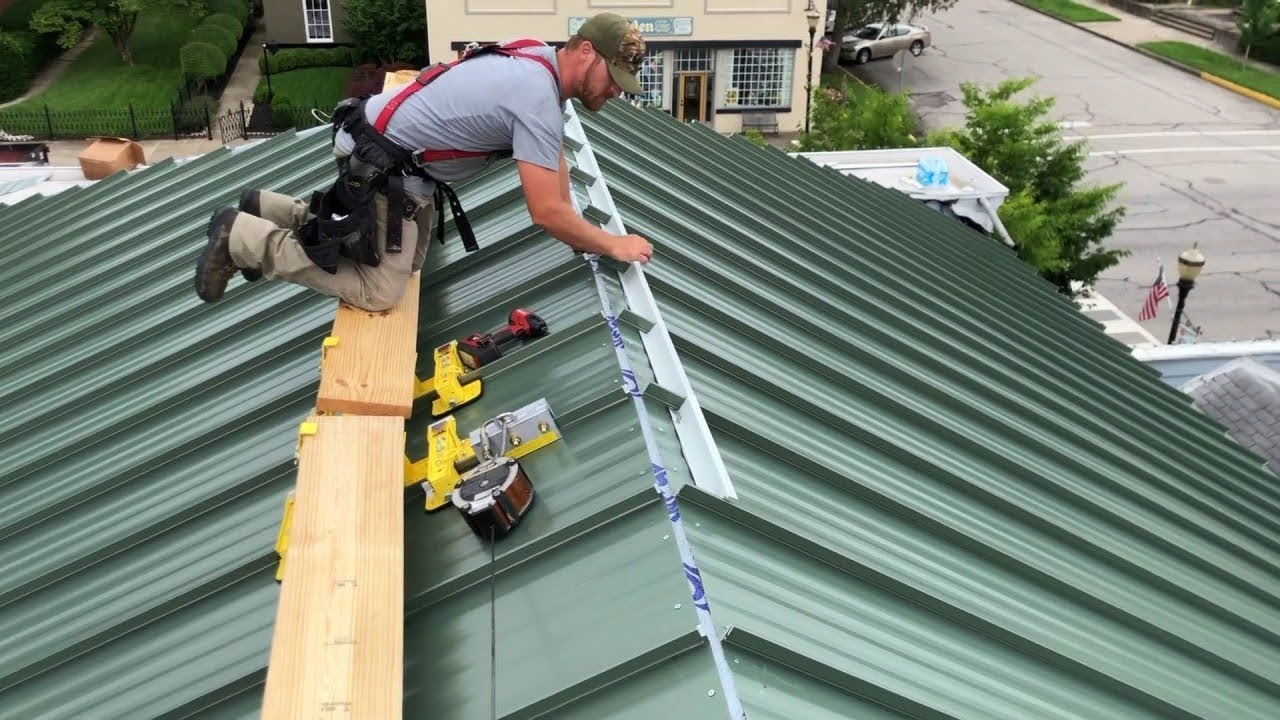 Commercial Metal Roofing Commercial Metal Roof Exterior Pro
