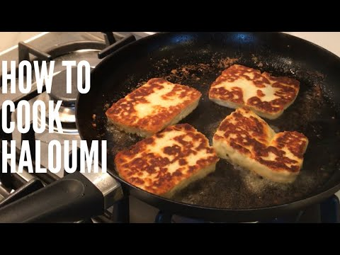 Fried Haloumi - quick and easy