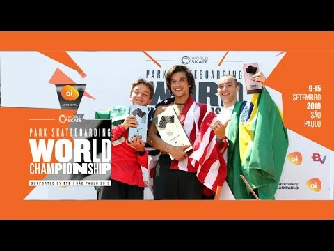 A Final Masculina do Mundial de Skate Park em São Paulo | Video Edição Full