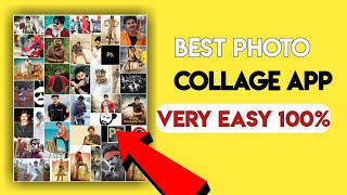How to Make unlimited photo collage effect 2019 || Best app to make photo collage without limit