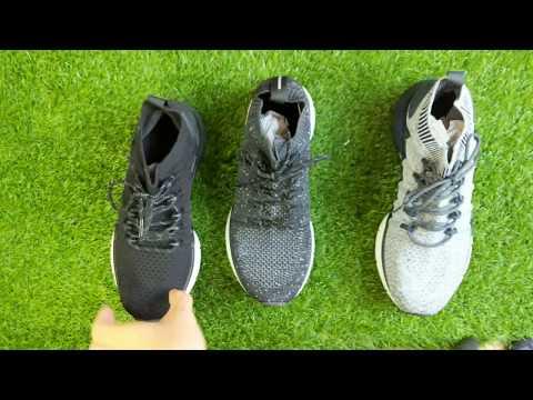 Trên Tay Giày Xiaomi Mi Sport Sneaker 3 Mới Nhất 2019 và So Sánh Với Giày Xiaomi Mi Sport Sneaker 2