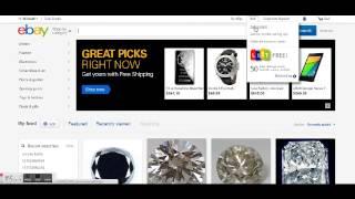 Как выставить товар на продажу на аукцион eBay - Русский eBay