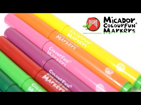 Micador Colourfun Markers, Wallet 12