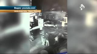 Массовая драка у бара в Ульяновске попала на видео
