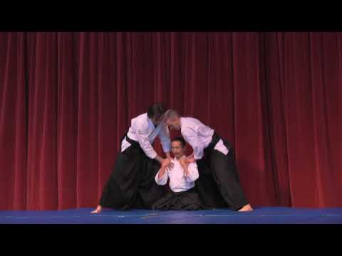 Ki-Aikido Demo with Kashiwaya Sensei at Sakura Matsuri 2018
