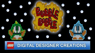 Bubble Bobble (30th Anniversary) | LEGO Digital Designer Creations