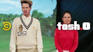 CeWEBrity Profile - Golf Girl Trick Shots - Tosh.0