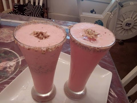 Video ROOH AFZA & ALMOND DRINK (URDU / HINDI) BY SEHAR SYED. روح أفز  बादाम और एक आत्मा पेय जीत