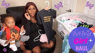 Newborn Baby GIRL Clothing Haul | Ralph Lauren, Baby Gap, H&M, Macys, Amazon, Carters, Etc.