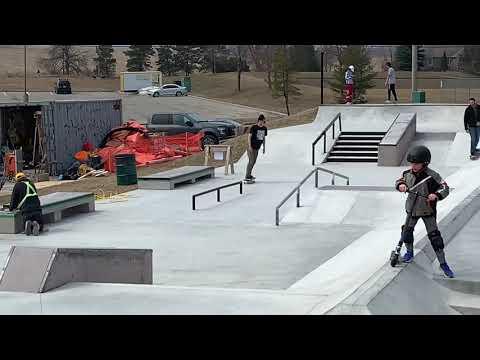 Georgetown Skatepark Gellert Community Center New Skateboarding Scooter Park Built 2018