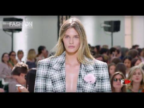 ALEXANDRE VAUTHIER Haute Couture Fall 2019 Paris - Fashion Channel