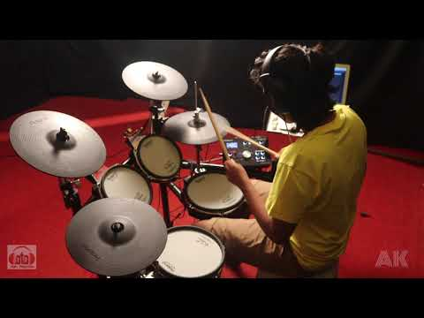 Daft punk- Get lucky drum cover