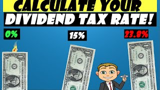 Your Dividend Tax Rates! 3 EXAMPLES! (Calculate Tax On Your Qualified Dividends Like a Pro)