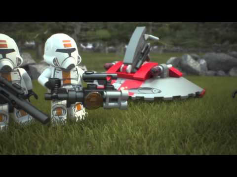 Vidéo LEGO Star Wars 75001 : Republic Troopers vs. Sith Troopers