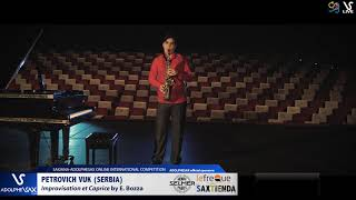 Petrovich VUK plays Improvisation et caprice by E. Bozza #adolphesax