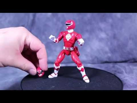 Bandai Mighty Morphin Power Rangers the Movie 5 inch Legacy Red Ranger