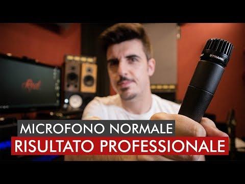 Una voce PROFESSIONALE da un MICROFONO NORMALE | Tutorial | Red Sprecacenere
