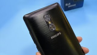 PHILIPS X598 Smartphone Unboxing(Antutu/AIDA64/Geekbench Test)
