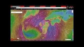 台風15号最終進路予想です。24日18時現在。