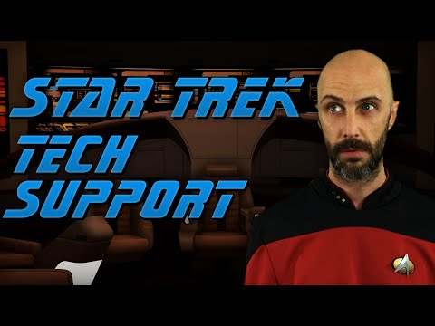 A day in the life of a Star Trek IT guy