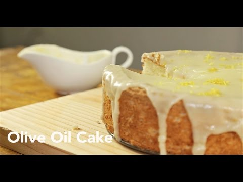 Video Olive Oil Cake Recipe