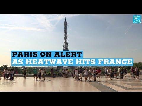 Paris on alert as heatwave hits France