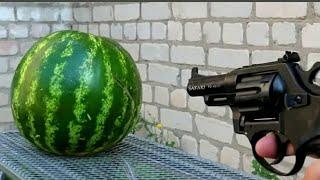 ЕКСПЕРИМЕНТ: Пистолет vs кавун