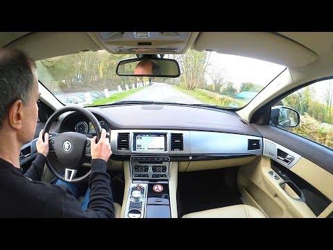 Jaguar XF AWD review test - XF sedan Fahrbericht - Autogefühl Autoblog