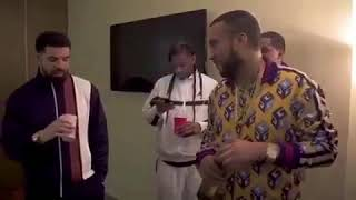 Drake & French Montana share bottle of Ciroc Vanilla