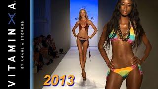 VITAMIN A Resortwear 2013 / Mercedes-Benz Fashion Week  Runway Swimsuit Sexy Bikini Models / Full HD