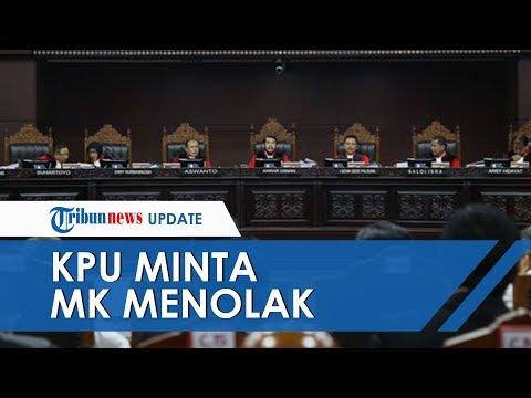Terkait Penetapan Hasil Pilpres 2019, KPU Minta MK Tolak Permohonan Tersebut