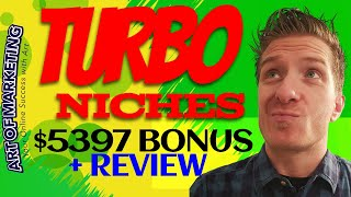 TurboNiches Review, Demo, $5397 Bonus, Turbo Niches Review