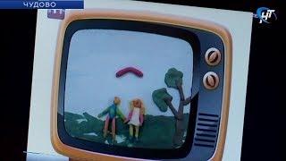 В чудовском детском саду №7 «Светлячок» дети сами снимают мультфильмы
