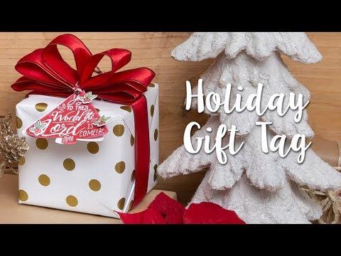 How to Make Holiday Gift Tags!
